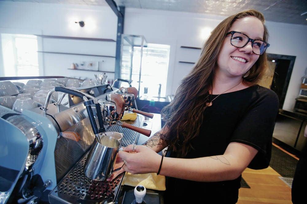 'Third wave' coffee rolls into the Railyard