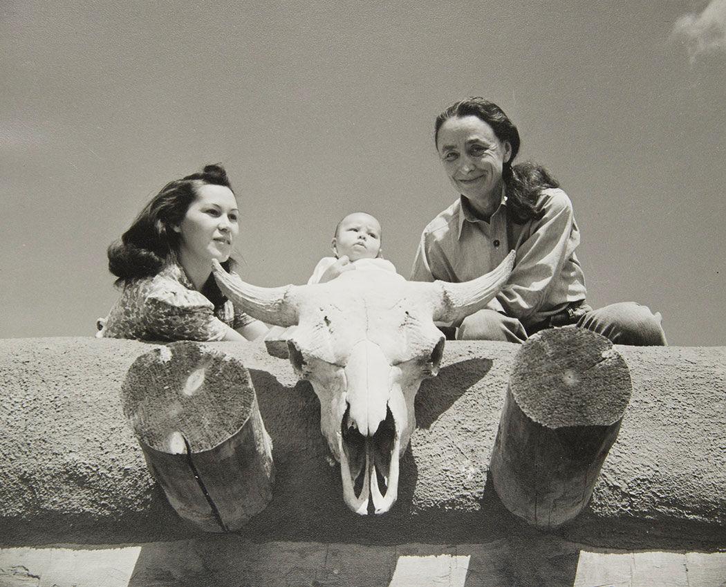 bernie little max and georgia o'keeffe 1941