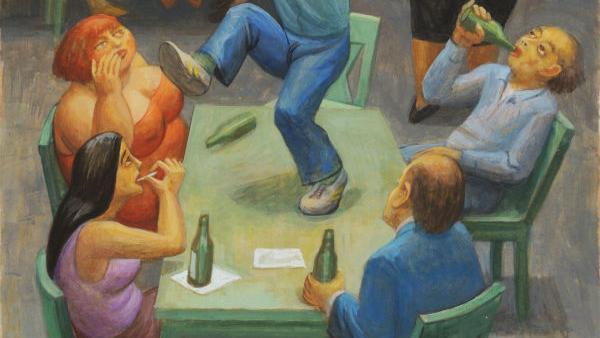 Nudes, nudes, nudes — and a few bars: Celebrating Eli Levin
