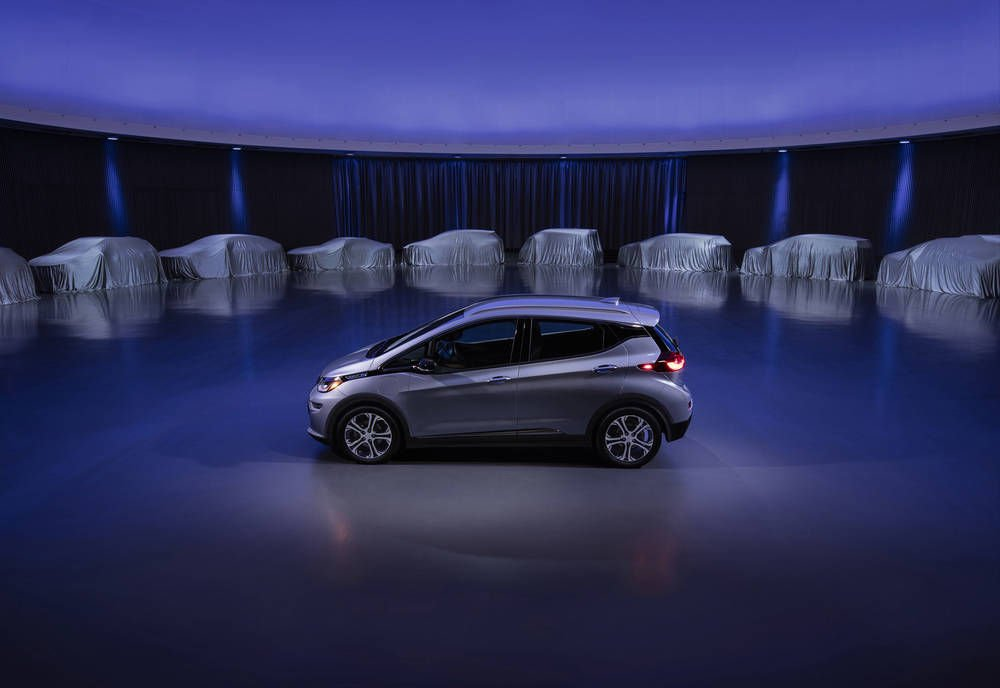 GM will have 20 electric auto models on the road by 2023