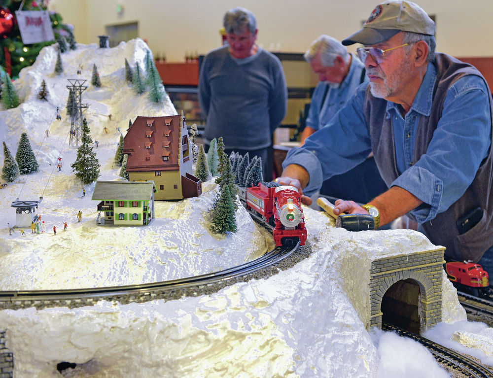 Trains usher in magic of the holidays