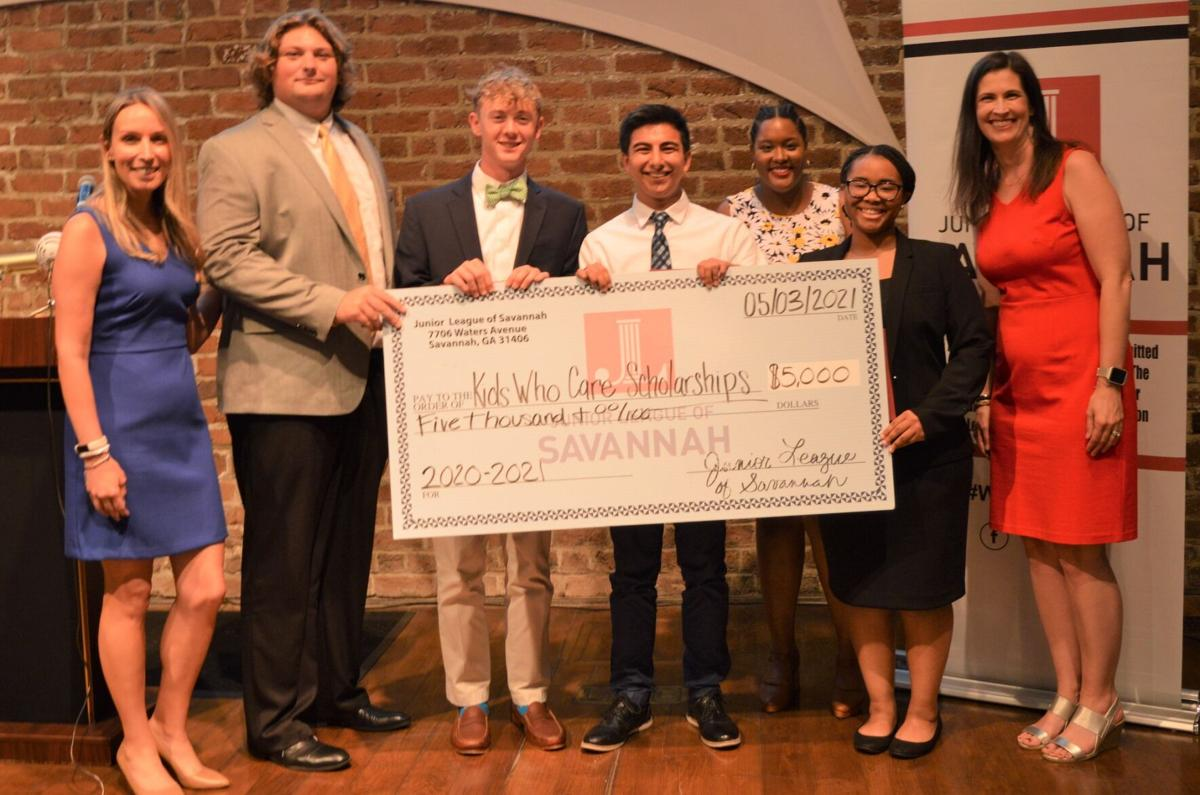 Junior League of Savannah Awards Kids Who Care Scholarships to Local Students at 2021 Annual Meeting.jpg