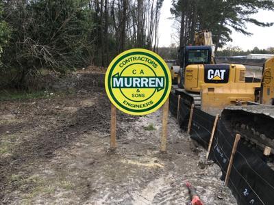 Savannah Arena Project Signage - C.A. Murren