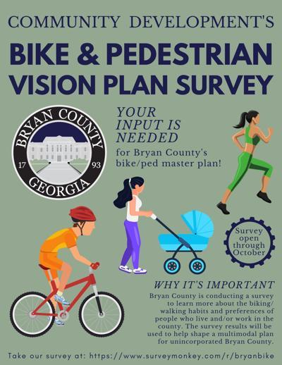 Bike/ped survey flyer