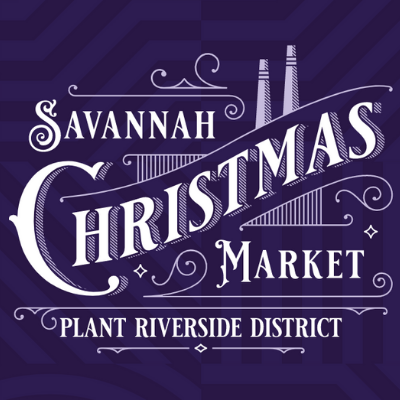 Savannah Christmas Market Calendar - Purple