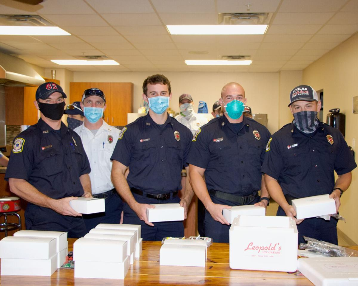 Dewitt Tilton Group, Commercial Construction, Delivers Thanksgiving Lunches to Pooler Fire Department, _2674.jpeg