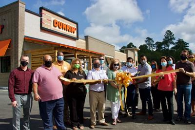 The Shops at Lakeside Village Grand Opening, Dunkin Ribbon-Cutting, with Dewitt Tilton Group, Commercial Construction.jpeg