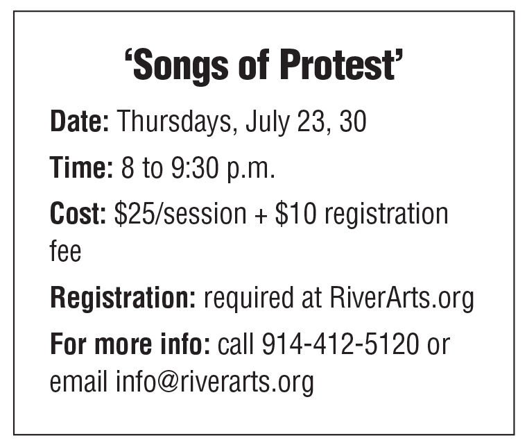 Songs of Protest box 7/17 issue