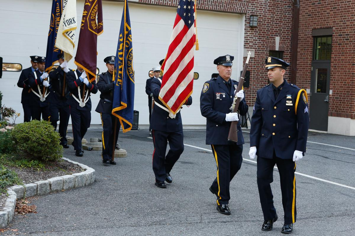 Scarsdale 9 11 ceremony