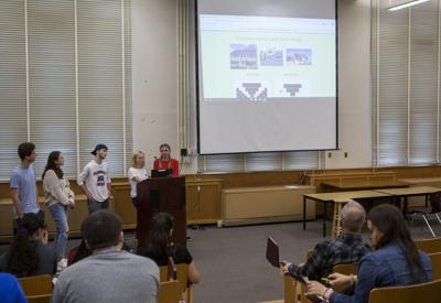 Students close the information gap on solar panels for residents