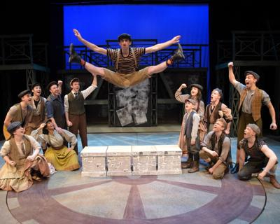Delivering tomorrow's news: 'Newsies' delights at WBT