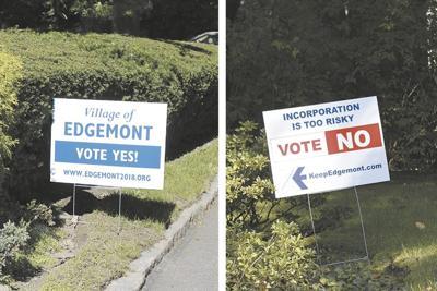Edgemont Incorporation signs