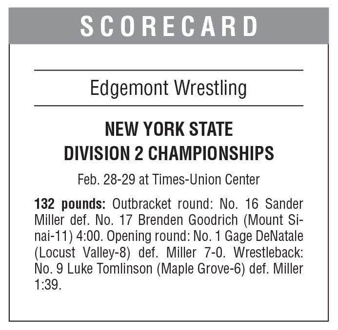Edgemont wrestling boxscore 3/6 issue