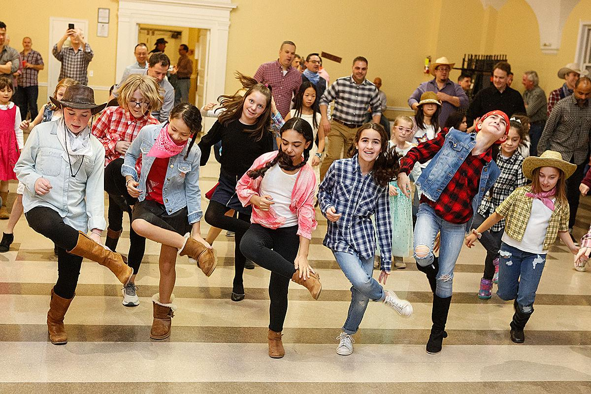 Girl scout square dance