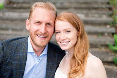 George Michael Roberts and Sarah Hanna Reingold photo