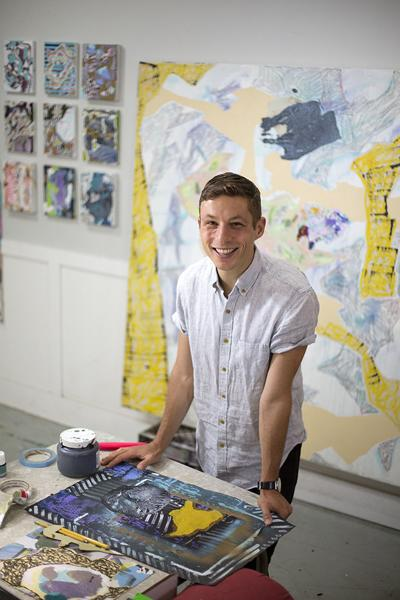 Artist's work brings viewers 'Somewhere in the Half Light'