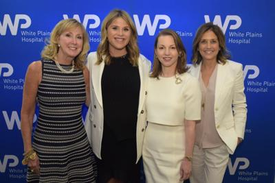 Jenna Bush Hager at White Plains Hospital luncheon