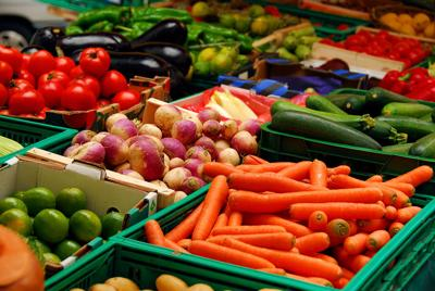 Vegetables photo farmers market stock