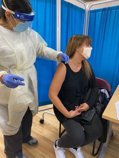 Michelle Asch vaccine photo