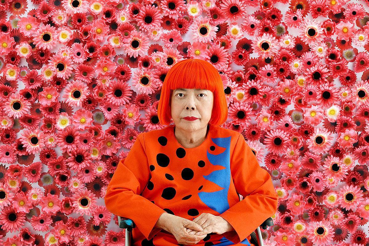 Artist Yayoi Kusama photo