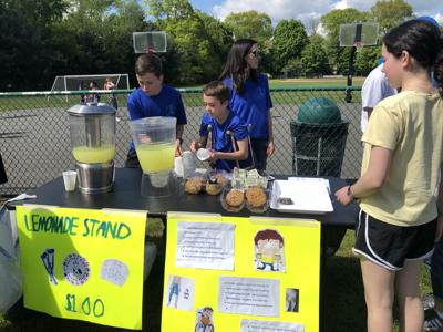 Lemonade stand raises money for Perthes research foundations photo