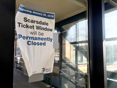 Village says goodbye to MTA ticket window