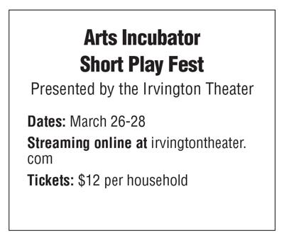 Irvington Theater Arts Incubator box 3/19 issue