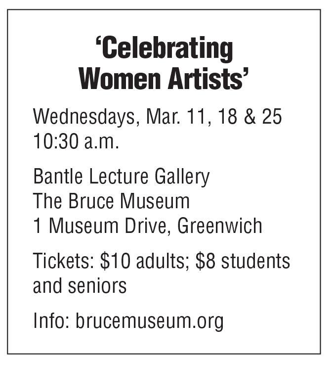 Bruce Museum women art box 3/6 issue