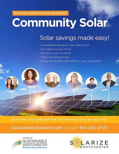 Community solar Sustainable Westchester image