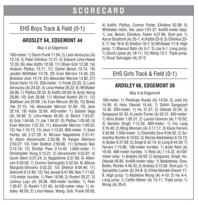 EHS track box 5/7 issue