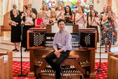 St. Pius X congregation inaugurates new pipe organ photo