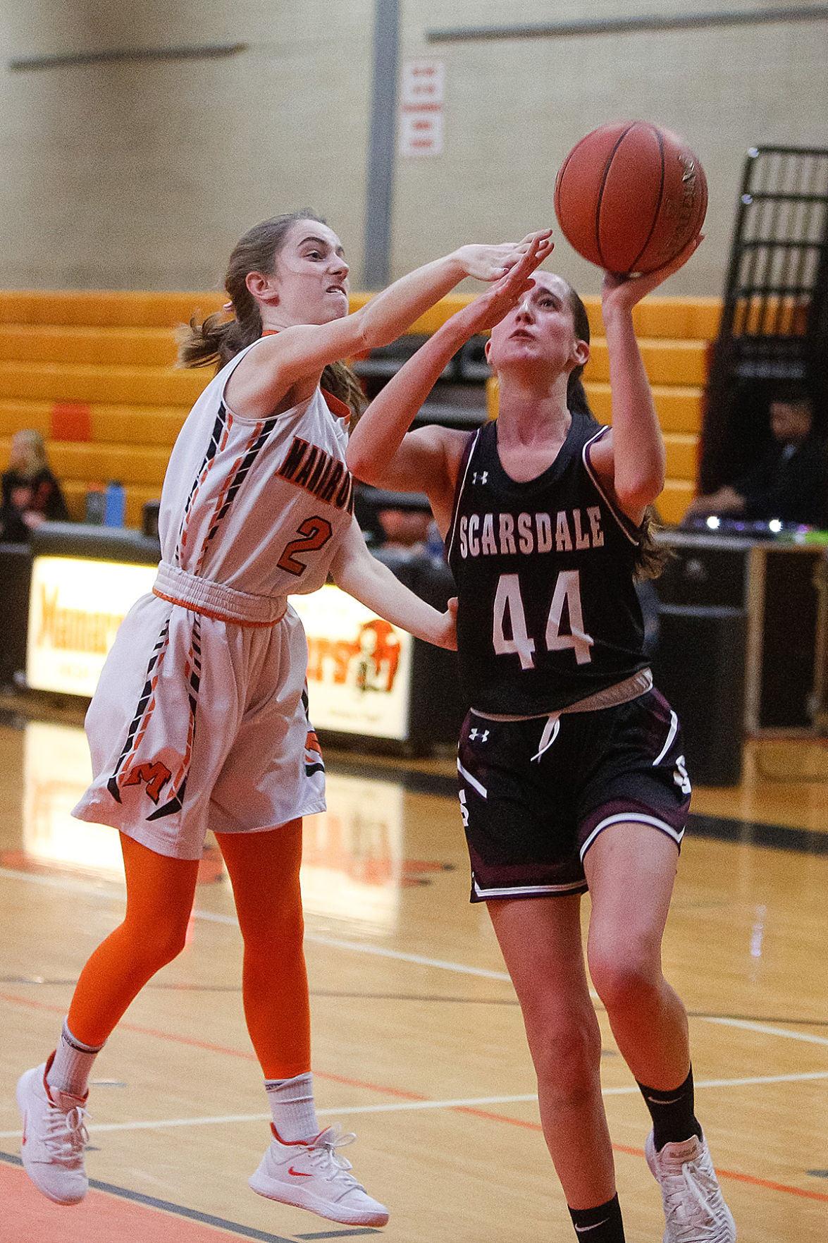 Scarsdale girls basketball