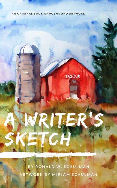 "Schulman EBOOK ""A writers Sketch"" cover.jpg"