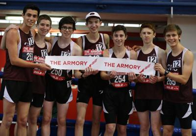 Raiders team up to win Marathon event at Armory