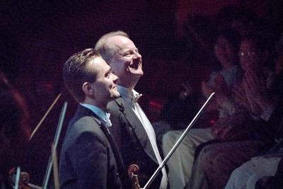 Teatro Nuovo Tancredi, Lehmann and Crutchfield acknowledge applause - credit Steven Pisano 27.jpg