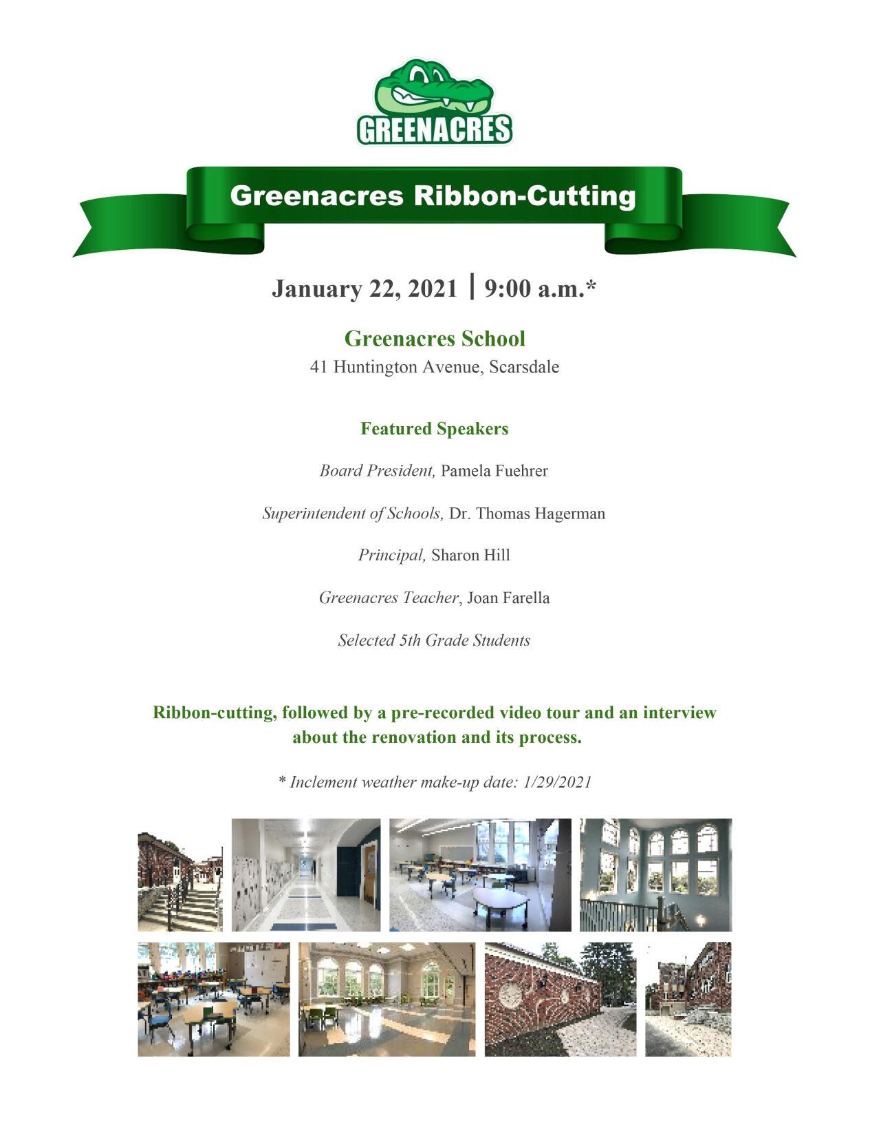 Greenacres ribbon-cutting program