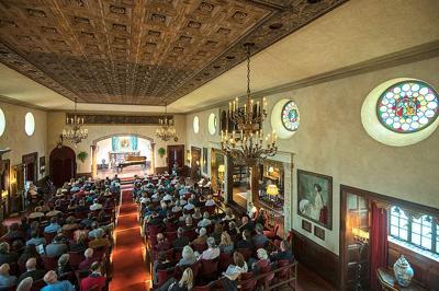 Caramoor Rosen House Music Room photo