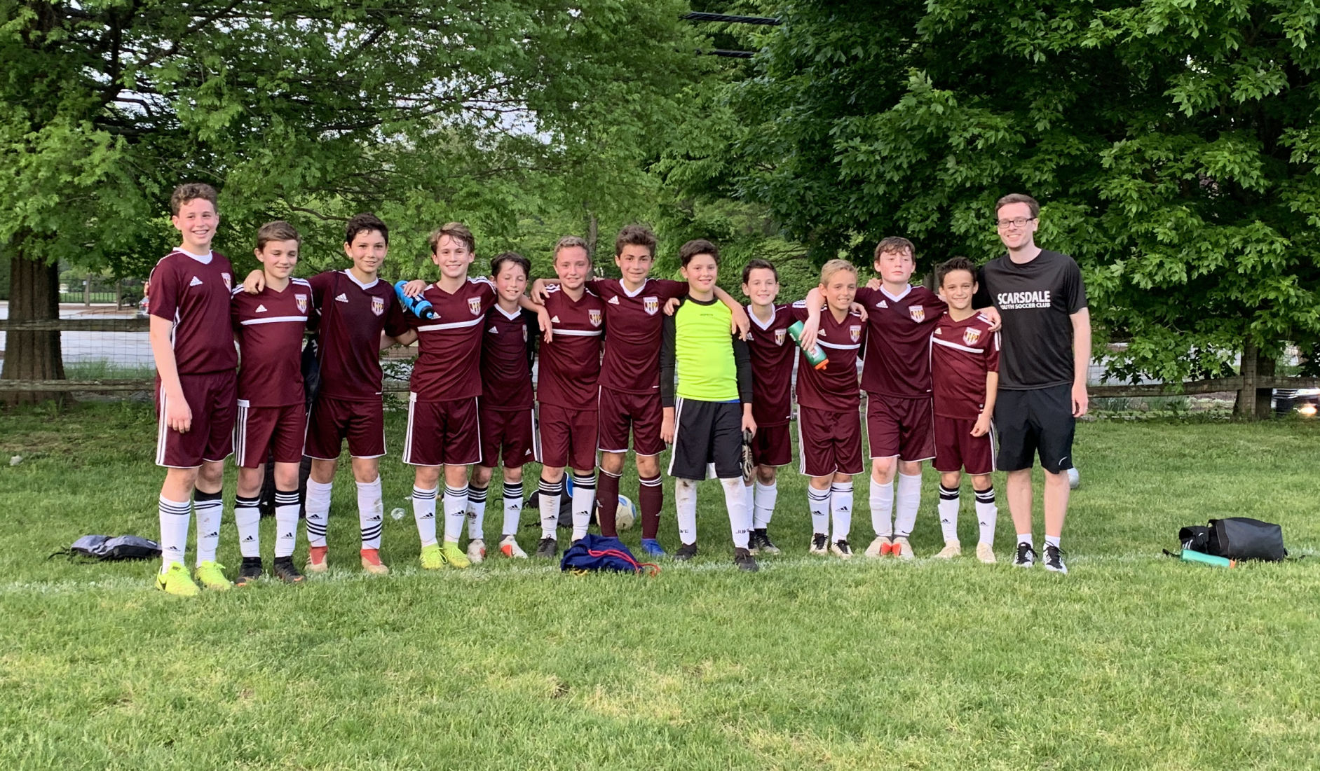 Scarsdale PSG/u12 advances to State Cup final photo