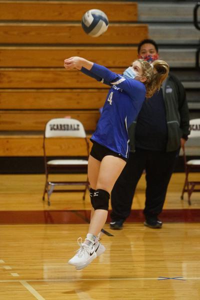 Rachel Bortstein Edgemont volleyball