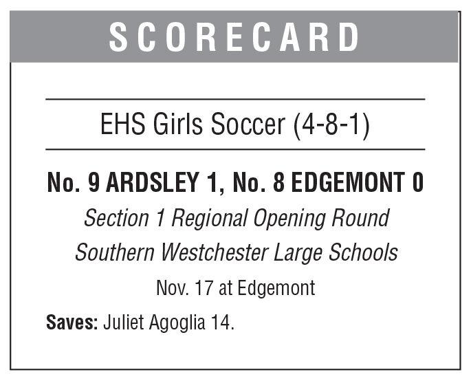 Edgemont girls soccer box 11/20