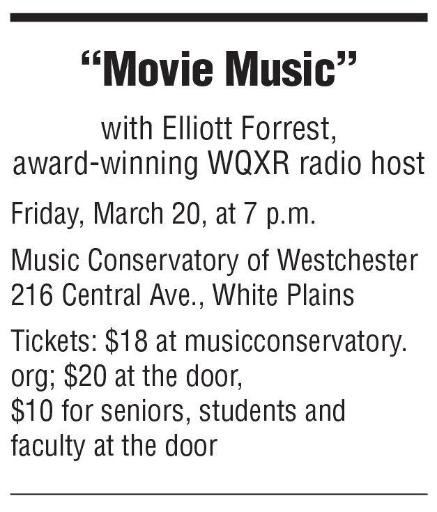 Elliott Forrest  movie music box 3/13 issue
