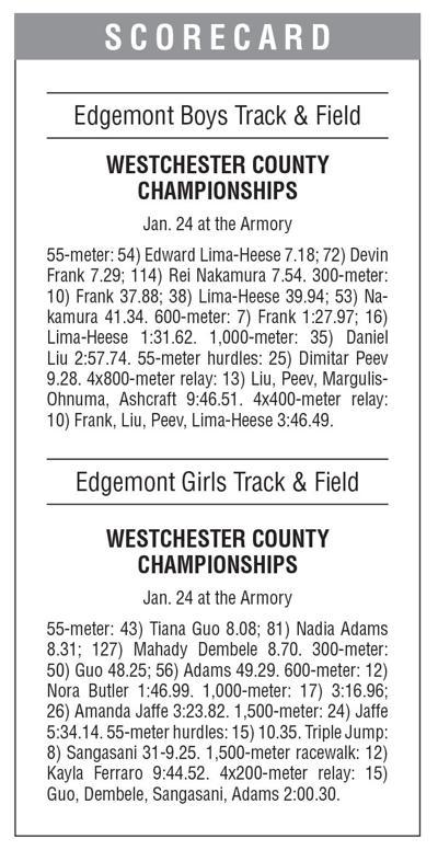 Edgemont track boxscore 1/31 issue