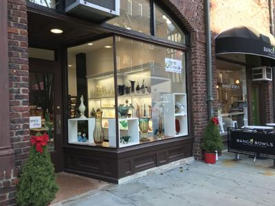 Art glass business opens in village center
