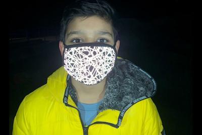 Edgemont reflective mask photo