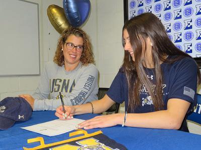 Theresa Milio Edgemont signing photo