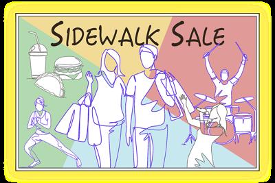 Sidewalk sale art