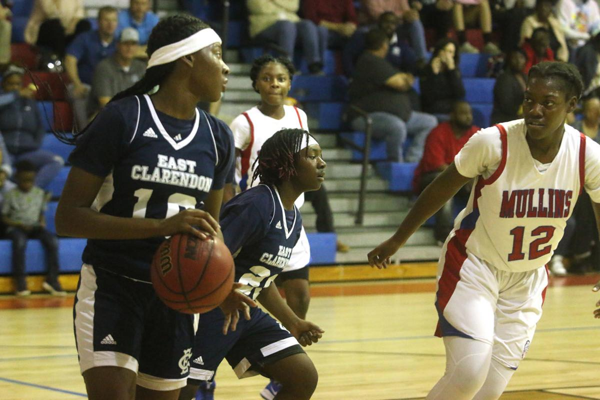 Mullins vs East Clarendon Basketball