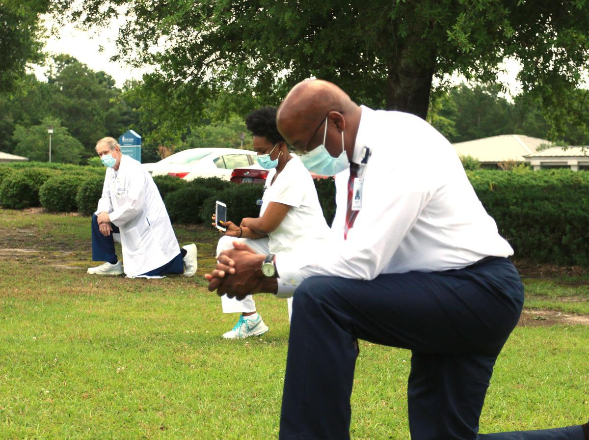 MUSC Health Marion Medical Center supports 'White Coats for Black Lives' movement