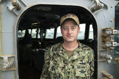 U.S. Navy Petty Officer 2nd Class Jeffrey Thornton