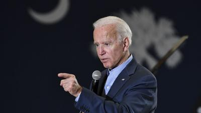 Joe Biden campaigns in Florence, South Carolina